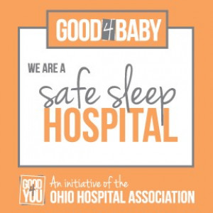 We are a safe sleep hospital